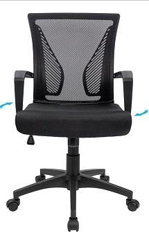Furmax Mid-Back Ergonomic Mesh Chair