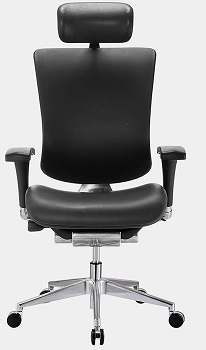 GM Seating GM-DRM-LTR Leather Chair