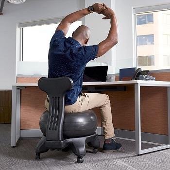 Gaiam Classic Yoga Ball Chair