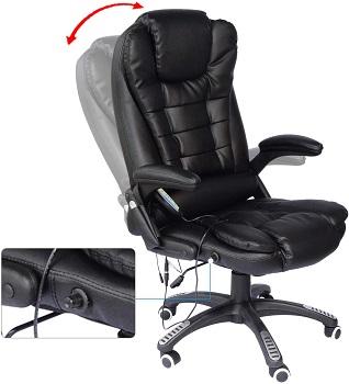 HOMCOM A2-0051 Leather Adjustable Chair