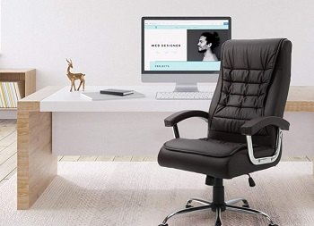 Halter Leather Office Chair