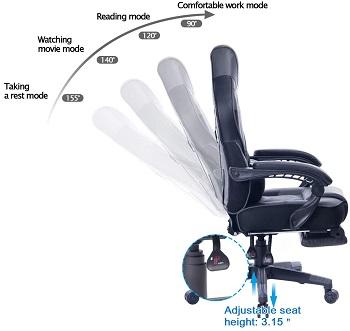 Healgen Ergonomic Gaming Chair