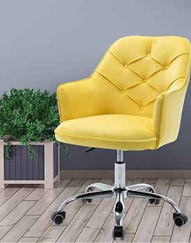 HenfVelvet Desk Chair
