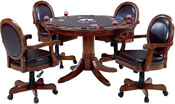 Hillsdale 6125-801B Game Chair