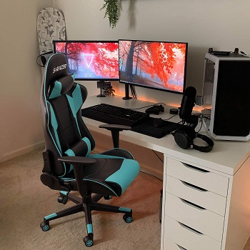 Homall Gaming Office Leather Chair