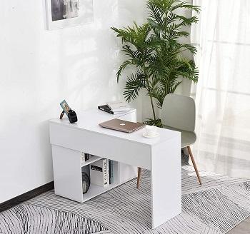 Homcom Computer Workstation Desk