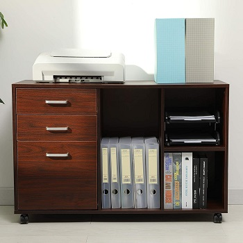Itaar 39 inches Wood File Cabinet