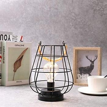 JHY Design Cage Bulb Lantern