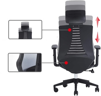 Klasika Adjustable Fabric Chair