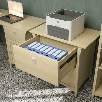Mecor Lateral File Cabinet