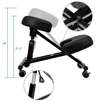 Mefeir Adjustable Kneeling Chair