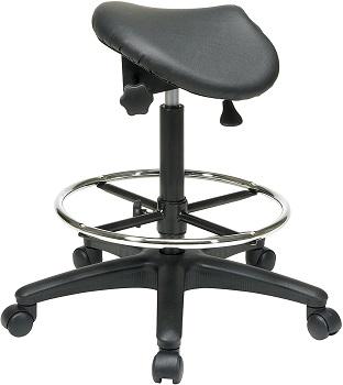 Office Star ST205 Saddle Stool