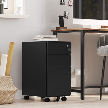 SONGMICS File Cabinet with 3