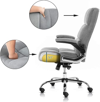 Seatingplus 3288GY Computer Chair