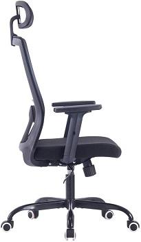 Sidanli High-Back Mesh Desk
