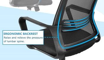 Smugdesk YS-VC3918D-BK Ergonomic Chair