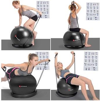 Sporus Exercise Yoga Office Ball