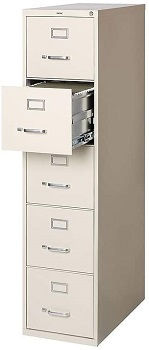 Staples Commercial 5-drawer File Cabinet