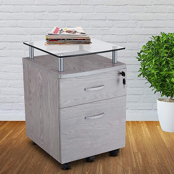Techni Mobili Rolling File Cabinet