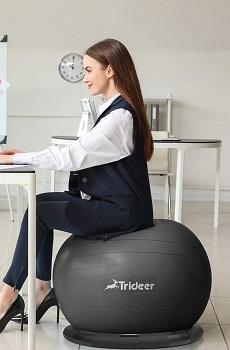 Trideer Exercise Stability Yoga Ball