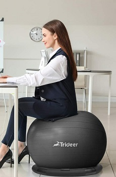 Trideer Store Yoga Ball For Office