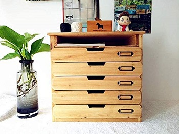 5 Flat Drawer Organizer for Home