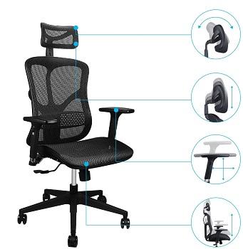 Argomax Computer Desk Chair