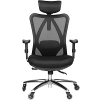 BEST ADJUSTABLE MESH OFFICE CHAIR WITH LUMBAR SUPPORT Summary