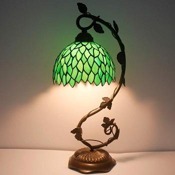 BEST ANTIQUE GREEN OFFICE LAMP