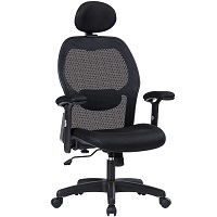 BEST ARMRESTS OFFICE CHAIR WITH LUMBAR AND NECK SUPPORT Summary