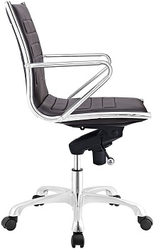 BEST BACK SUPPORT LOW-BACK OFFICE CHAIR WITH ARMS