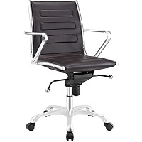 BEST BACK SUPPORT LOW-BACK OFFICE CHAIR WITH ARMS Summary