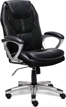 BEST BACK SUPPORT OFFICE CHAIR WITH LUMBAR AND NECK SUPPORT