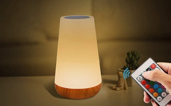 BEST BEDSIDE RECHARGEABLE LED TABLE LAMP