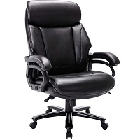 BEST BIG AND TALL BACK DESK CHAIR Summary