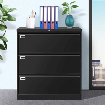 BEST BLACK LATERAL LOCKING FILE CABINET