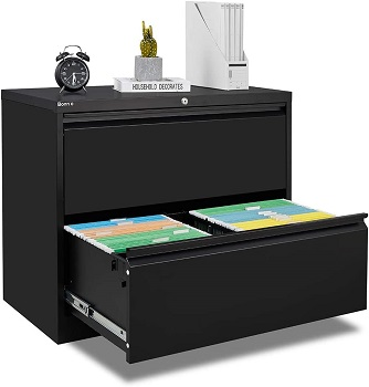BEST BLACK LOCKING LATERAL FILE CABINET