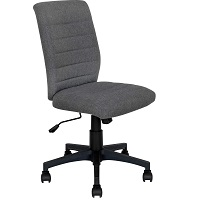 BEST CHEAP ARMLESS OFFICE CHAIR WITH LUMBAR SUPPORT Summary