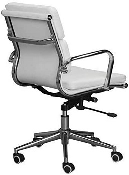 BEST CHEAP LOW-BACK OFFICE CHAIR WITH ARMS