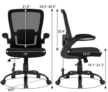 BEST ERGONOMIC CHEAP OFFICE CHAIR WITH ARMS