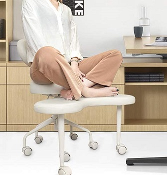 BEST ERGONOMIC CROSS-LEGGED DESK CHAIR