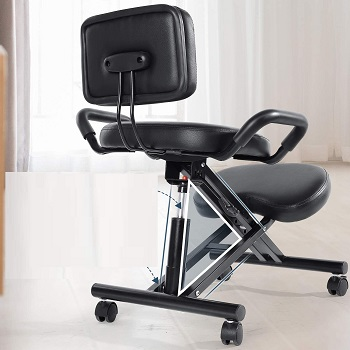 BEST ERGONOMIC KNEELING CHAIR WITH BACK SUPPORT