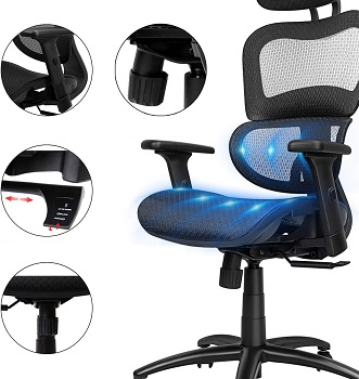 BEST ERGONOMIC OFFICE CHAIR FOR NECK AND SHOULDER PAIN