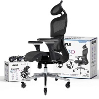 BEST FOR BACK PAIN ERGONOMIC CHAIR WITH NECK SUPPORT Summary