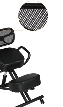 BEST FOR LOWER BACK KNEELING CHAIR WITH BACK SUPPORT..