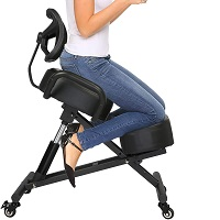 BEST FOR LOWER BACK KNEELING CHAIR WITH BACK SUPPORT