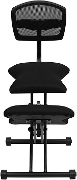 BEST FOR STUDY KNEELING CHAIR WITH BACK SUPPORT