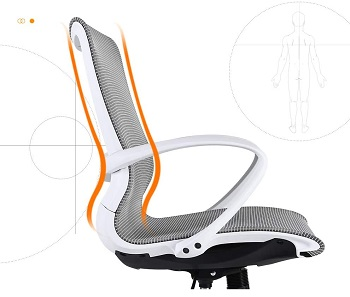 BEST FOR STUDY MESH OFFICE CHAIR UNDER 200