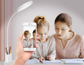 BEST FOR STUDYING RECHARGEABLE LED TABLE LAMP