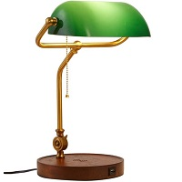 BEST GREEN AND GOLD OFFICE LAMP Picks